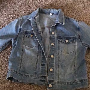 Denim jacket from uniqlo